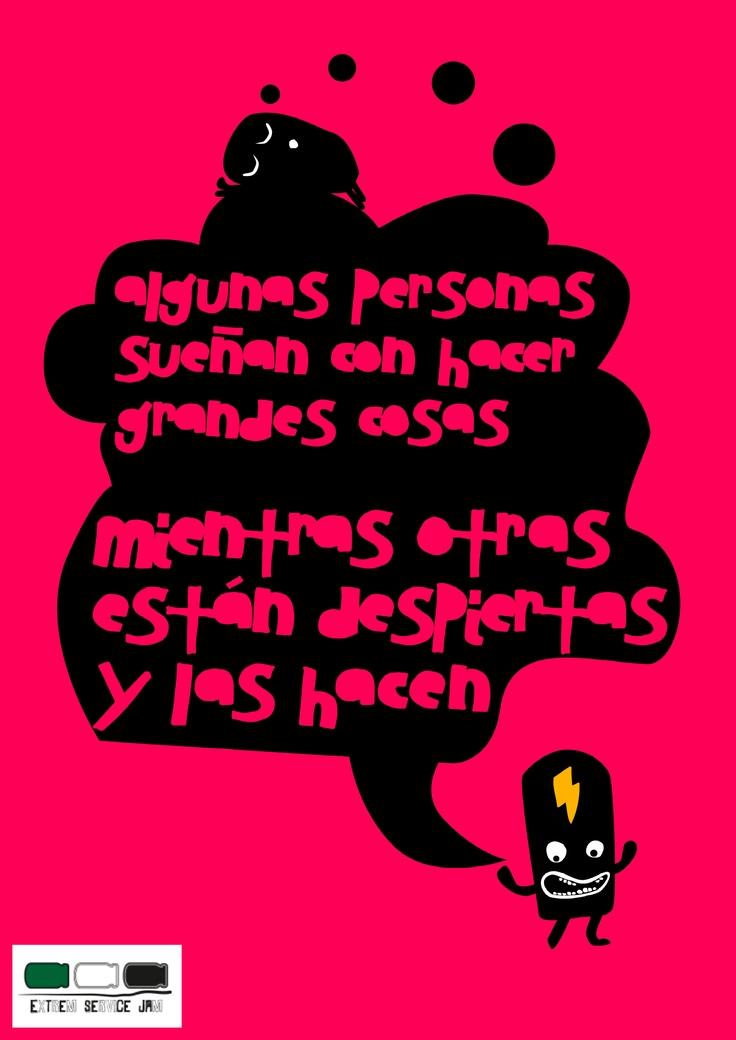 Diseño de Seisonseis para Extrem Service Jam Mérida #GSJ13