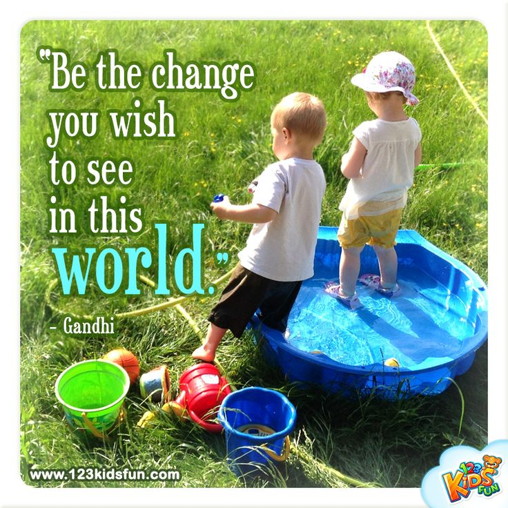 Be the change....  #quotes #earthday #ghandi # world