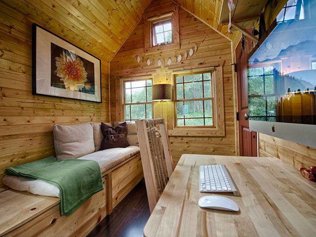 Peek Inside the Prettiest Little Rustic Home  - CountryLiving.com