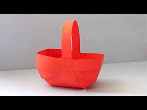 7 best paper arts crafts and origami images on pinterest paper art how to make paper basket diy do it yourself paper crafts video tutorial for kids everyone who loves creativity learn step by step to create basket by solutioingenieria Choice Image
