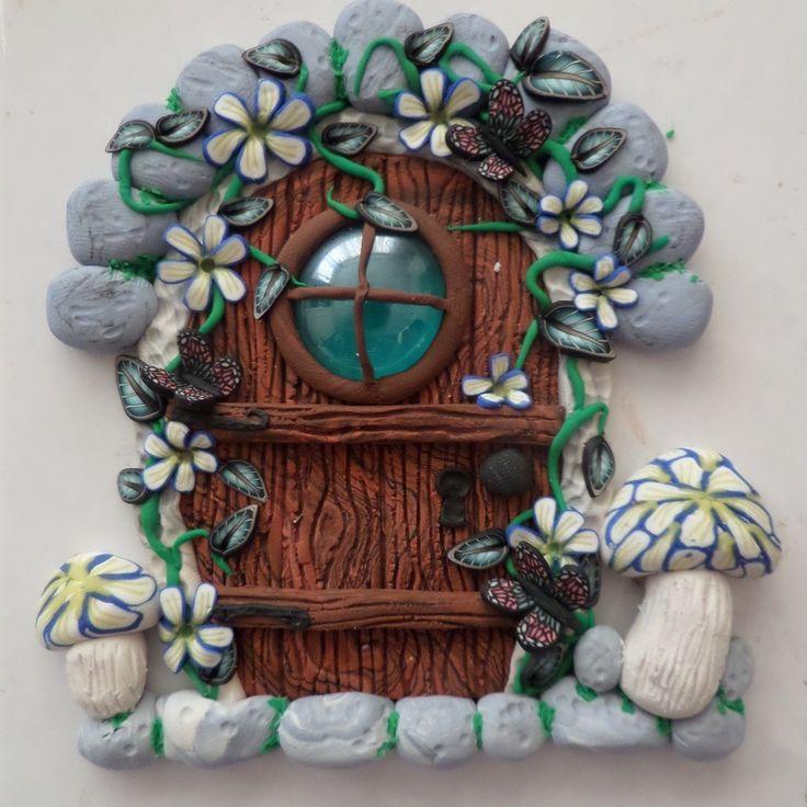 polymer clay fairy portal