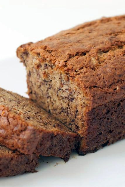 Weight Watcher 1 Point Banana Bread--Flex Points ~ Moist and tasty! For those on WW, it's an easy, economical homemade alternative to buying the overpriced WW baked goods in the grocery store