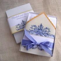 Lavender Barok Tasarım ve Ayçiçeği Altın, Benzersiz Kutulu Davetiyeler ile zarif Düğün Davetiyesi Suite, Geleneksel Düğün {25}