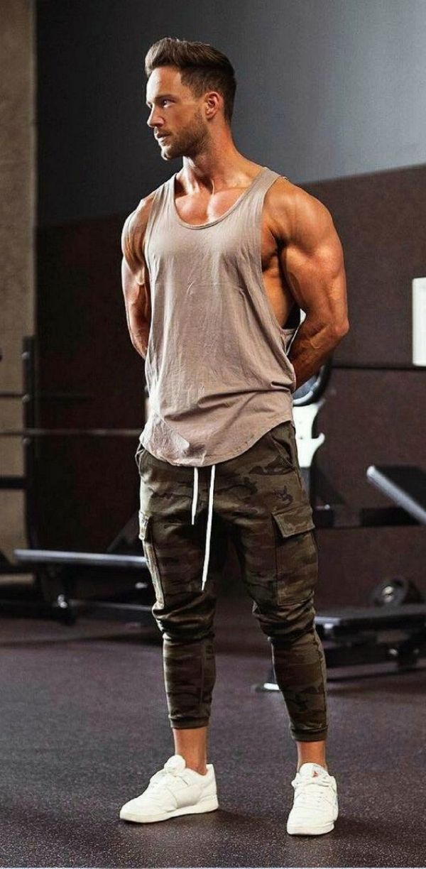 detailed look 60780 2b797 Gym-Outfit-Ideas-For-Men-2018