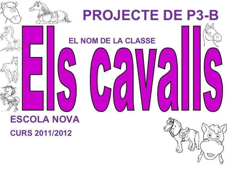 PROJECTE DE P3-B EL NOM DE LA CLASSEESCOLA NOVACURS 2011/2012