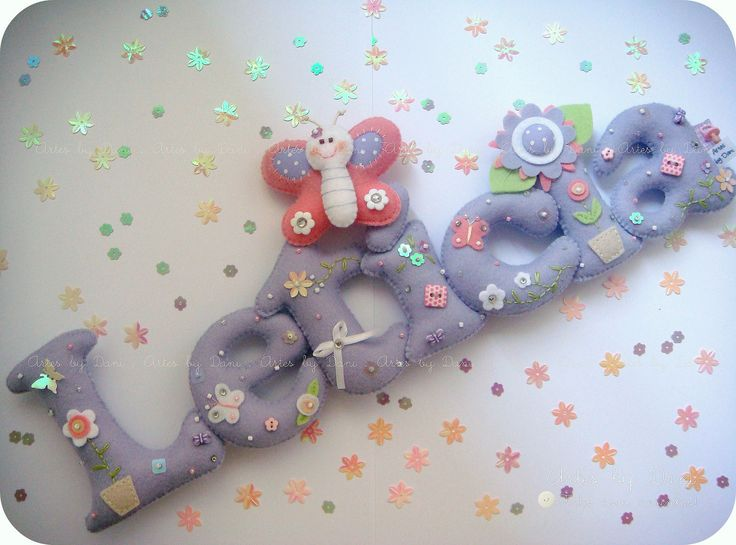 Enfeite de porta maternidade | Enfim, o enfeite da Letícia i… | Flickr