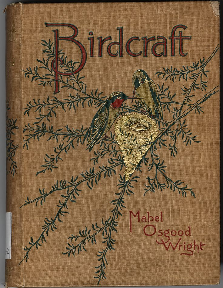 "Mabel Osgood Wright 1897 ""Birdcraft:  a field book of two hundred song, game, and water birds"""