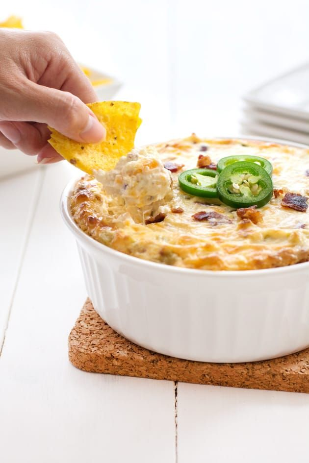 Jalapeño Cream Cheese Dip has the right amount of creamy and kick. A party in your mouth!