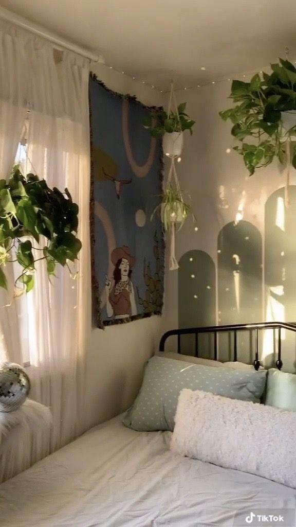 Earthy Bedroom Room Inspiration Bedroom Redecorate Bedroom Room Decor Bedroom