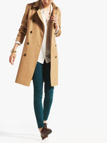LONG RAINCOAT - Coats & Jackets - WOMEN - United States