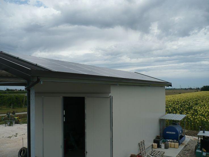 6 kW on a farmer's pad. Italy 2009