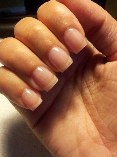 Acrylic overlay/Acrylic over natural nails | Simply nails... | Overlay nails, Natural nails, Nails