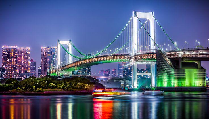 Tokyo's Rainbow by Rosen Velinov on 500px