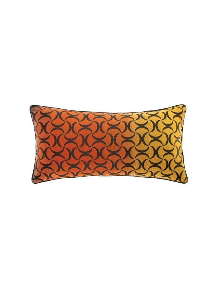And the matching Linen House Bauer Sunset Cushion, available at Forty Winks. Love the shape and colours!