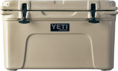 Yeti Coolers Tundra 45 Marine Coolers. These are remarkable coolers. Ice stays for 3-4 days, bear proof, etc.