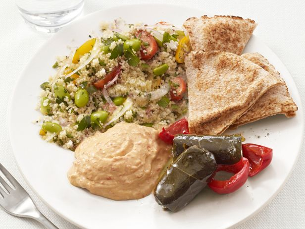 Middle Eastern Mezze Plate Recipe : Food Network Kitchen : Food Network - FoodNetwork.com