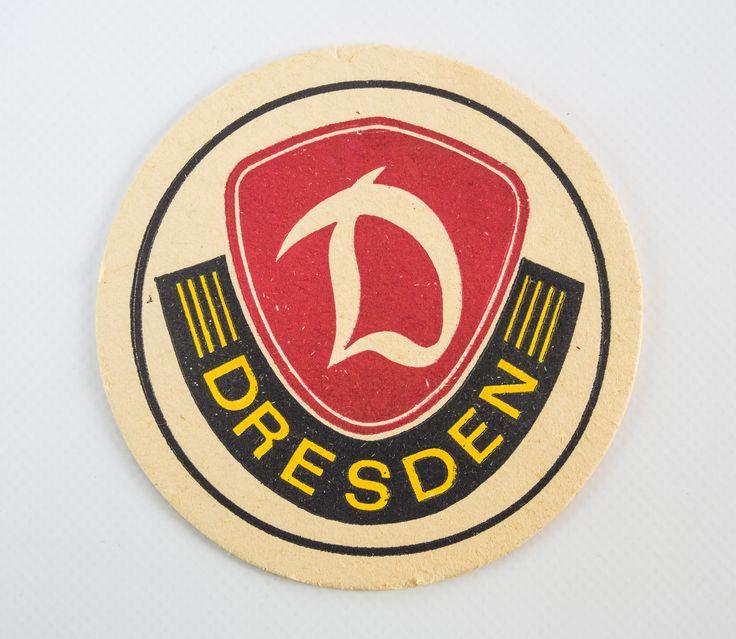 """DDR Museum - Museum: Objektdatenbank - """"Bierdeckel Dynamo Dresden"""" Copyright: DDR Museum, Berlin. Eine kommerzielle Nutzung des Bildes ist nicht erlaubt, but feel free to repin it!"""