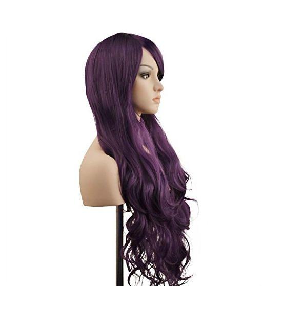 Cambia il look dei tuoi capelli nella notte dei travestimenti con questa parrucca lunga ben 80 centimetri e dall'effetto mosso! Marca Ambielly Wig, disponibile in vari colori. SEGUICI ANCHE SU TELEGRAM: telegram.me/cosedadonna