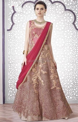 Divine Pink Zari Worked Net Lehenga Choli For Brides  #IndianDesignerlehengas #WeddingStylesForWomen #Beautiful #AlluringStyle #Impressivelehenga #WeddingLehenga #WeddingLehengaFashion #Awesome