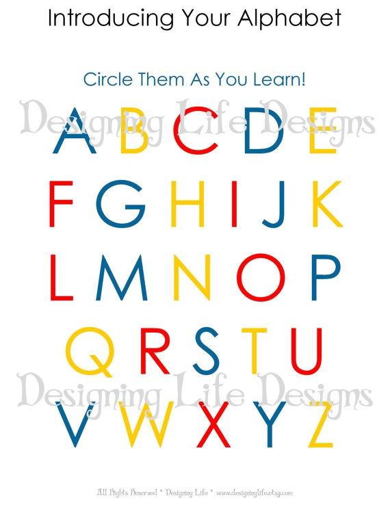 Homeschool Worksheets - 10 Printable Pages for Pre-K to Kindergarten age children