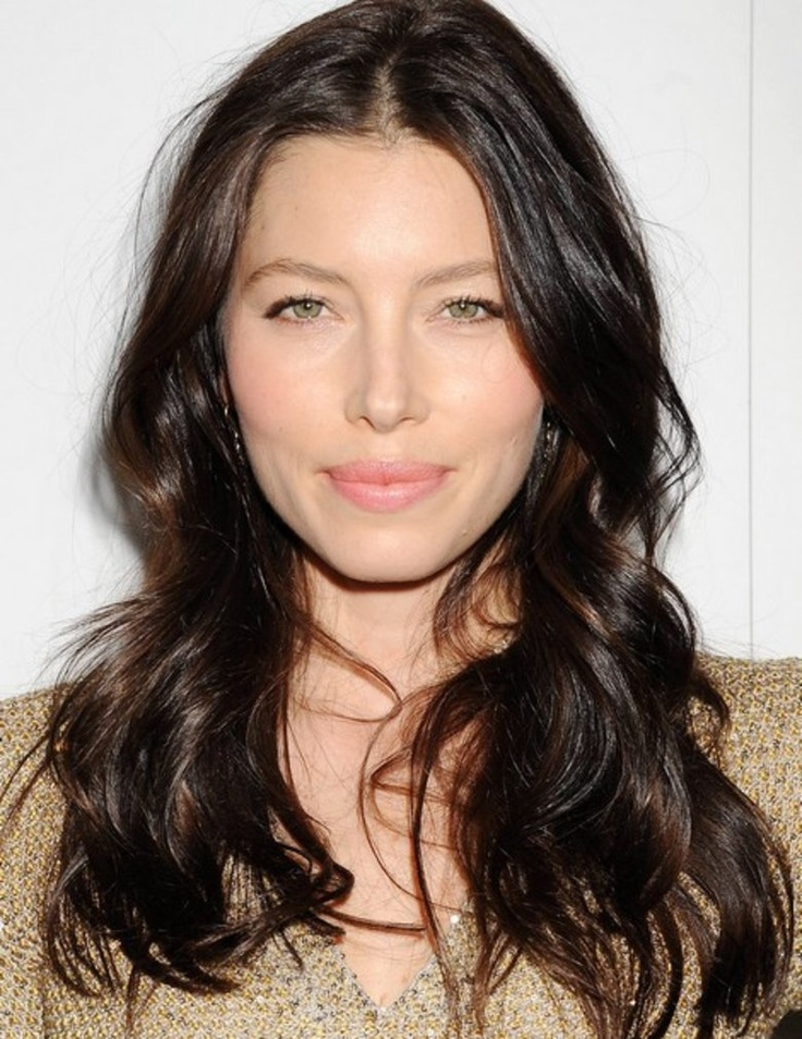 Jessica Biel Cool Brown Hair Colour Brunette Cool
