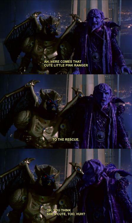 Power Rangers the Movie Goldar & Ivan Ooze