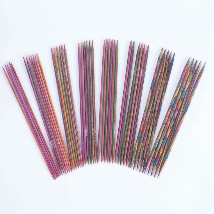 Knit Pro Symfonie Double Point Needles 15cm (Set of 5)