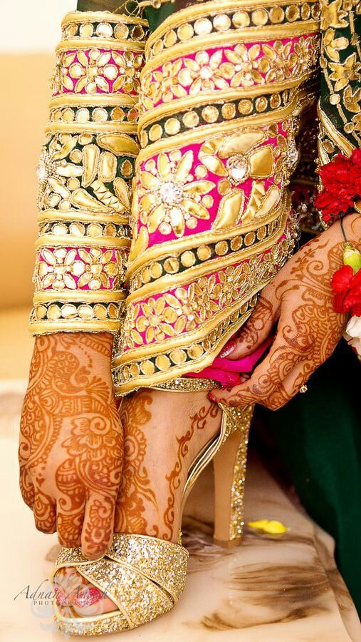 Beautiful Indian/#IndoPak Bridal Details