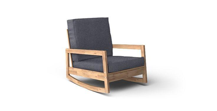 Lillberg Armchair Cover - Beautiful Custom Slipcovers   Comfort Works