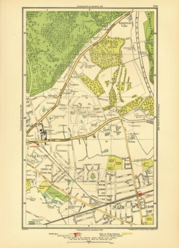 NORBITON-Coombe-Kingston-Hill-Kingston-Vale-New-Malden-Malden-1933-map