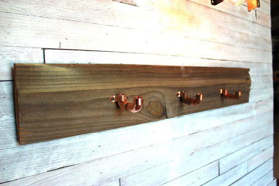 Rustic Barn Siding Coat Rack with Custom by SouthernRestoration, $24.99
