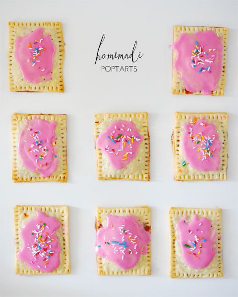 Homemade Pop tarts - this looks so simple, I can't believe I haven't tried it before!
