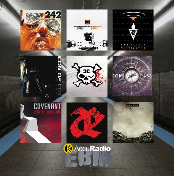The AccuRadio EBM music channel is now live! Streaming EBM and electro-industrial from the 1990's to today.