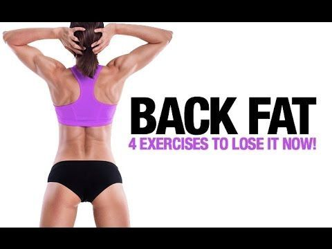 8d1c07f86e How to Lose Back Fat for Women (4 BEST EXERCISES!!) - YouTube reduce belly fat  bye bye