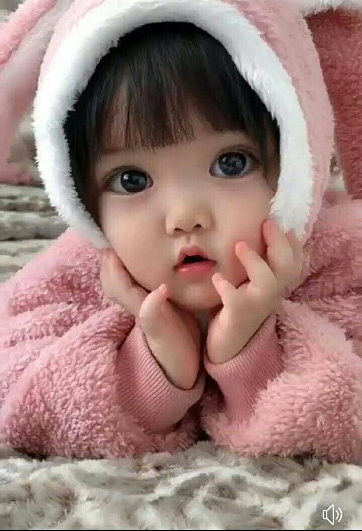 lovely face baby cute
