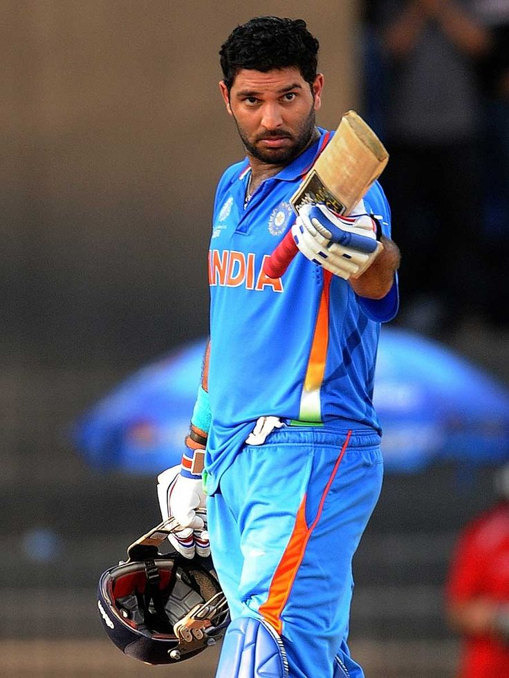 """""""When it matters, you will matter the most"""" - Sachin Tendulkar, the legendary batsman, said these words to bring out the fighter in the dashing left-handed batsman, Yuvraj, during 2011 Cricket World Cup #quotes"""