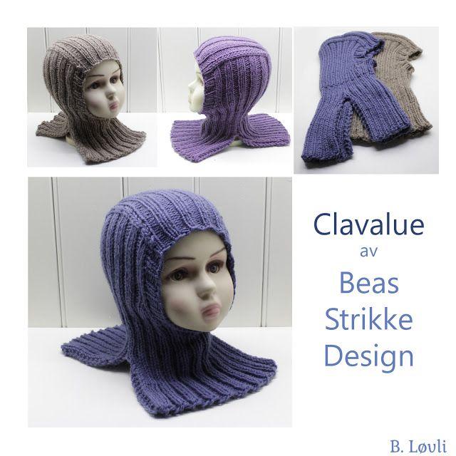 eb539d7c strikket balaclavalue clavalue | Hals - Skjerf | Strikkeoppskrift ...