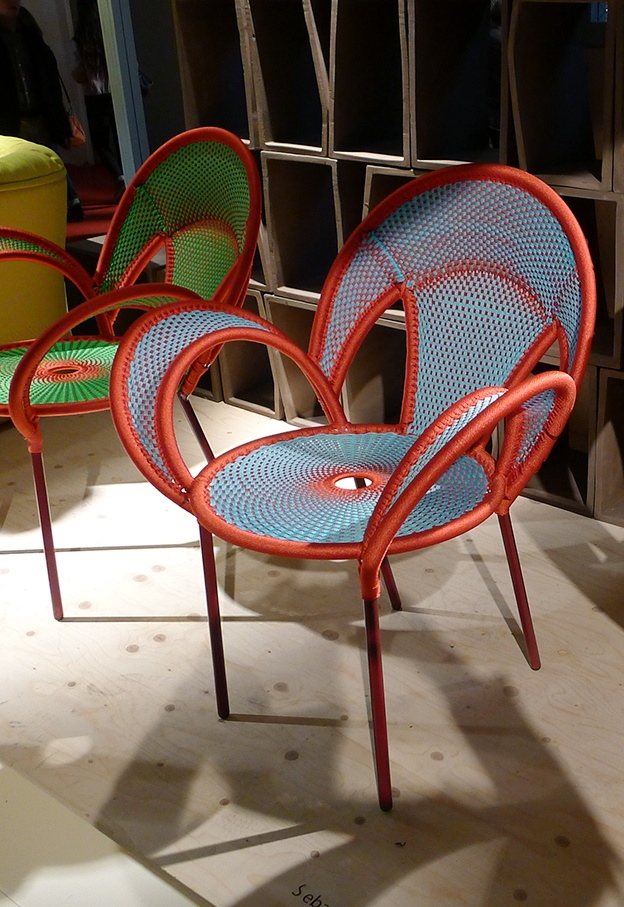 Salone del Mobile 2013: Banjooli chair by Sebastian Herkner for Moroso
