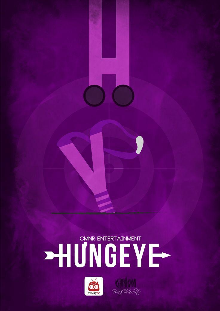 Hưng eye - CMNR Avenger Poster - Design by BotChocolate
