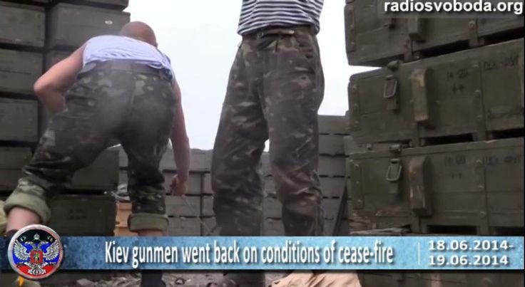 18-19 06 2014 Breaking news. Latest news of Ukraine