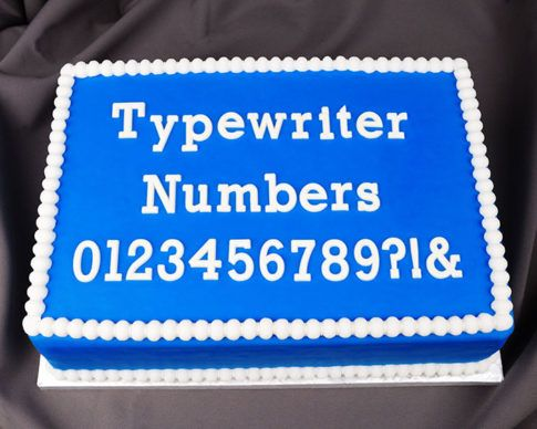 $ Typewriter Numbers Flexabet™