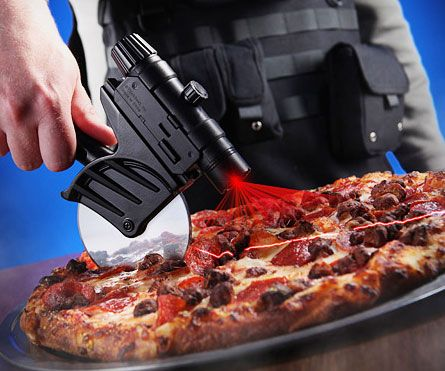 Tactical Laser Guided Pizza Cutter