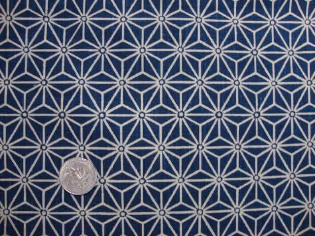 tissu japonais motif g om trique bleu 7 50 via etsy