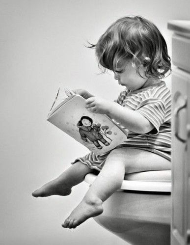 #books A love of books starts early...