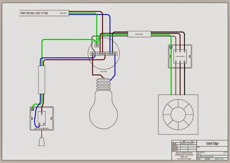 New Bathroom Extractor Fan Wiring Diagram How To Wire UK ...