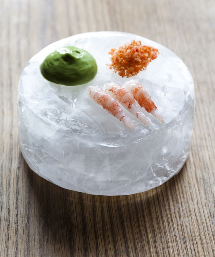 Even Ramsvik | Raw shrimps & dill | Ylajali Restaurant - Oslo