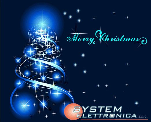Merry christmas system elettronica snc