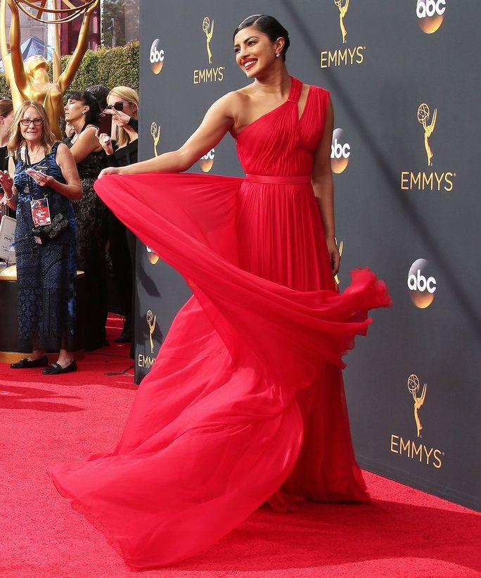 See Priyanka Chopra's Stunning Emmys Dress from Every Single Angle