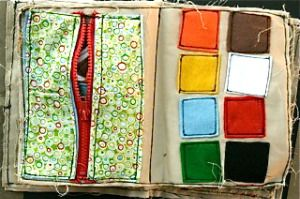 DIY Quiet Book, also use Velcro, buckles, ties, ribbon, and other fabric notions.