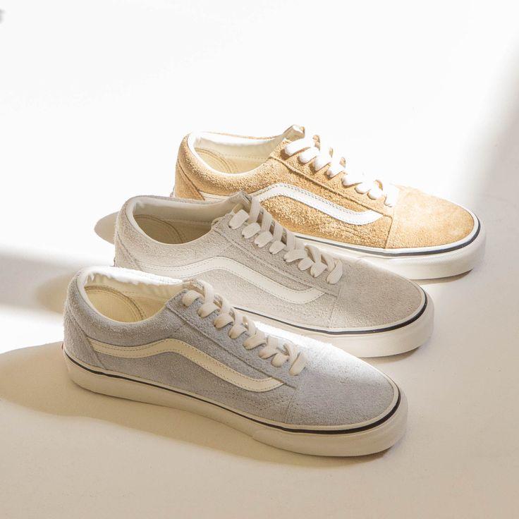 Vans - Old Skool Fuzzy Suede Sneaker - Bronze Old Skool Fuzzy Suede Sneaker - Birch Old Skool Fuzzy Suede Sneaker - Blue